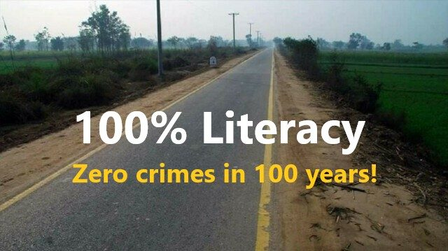 This village in Pakistan has a 100 percent literacy and 0% crime rate!