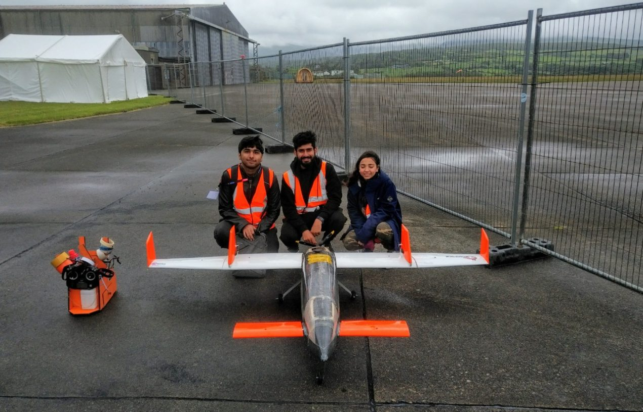 Foxtrot, student team from GIKI, ready to compete in UAS Challenge-2022